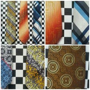 Other - Vintage 1950s/70s necktie lot of 5